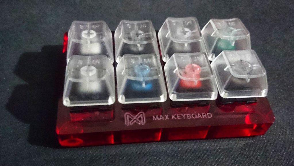 عينية لـ8 أنواع مفاتيح ميكانيكية