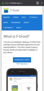 F-Droid Official Website